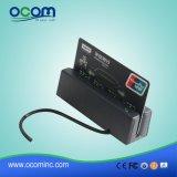 Cr1300 3 궤도 USB 자석 이동할 수 있는 Portable MSR 카드 판독기