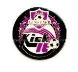 Projetar a moeda relativa à promoção do desafio do futebol