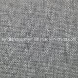 Do poliéster de matéria têxtil incêndio inerente/flama Home - tela de linho à prova de fogo retardadora do sofá do olhar