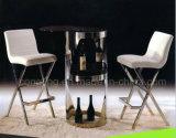 販売のための金属の白革の台所椅子