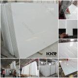 高品質20mmの純粋で白い人工的な水晶石シート