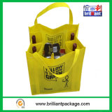 6 Bottom Non Woven Wine Bottle Bag с Stifener
