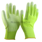 DÉCHARGE ÉLECTROSTATIQUE Work Glove d'unité centrale de Nmsafety 13G U3 Colorful Polyester Coated