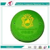 Крышка люка -лаза SGS составная пластичная круглая для тележки бака