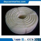 Corda de nylon marinha dos PP da corda da amarração do Polypropylene da corda com alta qualidade