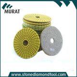 화강암과 대리석을%s 수지 다이아몬드 닦는 패드