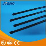 De Band van de Kabel van de Ladder van het roestvrij staal (het Enige Slot van de Weerhaak) (Epoxy/Met een laag bedekte Polyester)