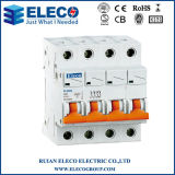 MCB van uitstekende kwaliteit 3p Mini Circuit Breaker (PLB6K Series)
