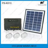 실내를 위한 11V 4W 태양 전지판 및 USB 전화 충전기를 가진 태양 조명 시설 (PS-K013)
