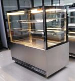 Ce basso di marmo Approvel del frigorifero della vetrina del panino/torta del forno
