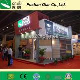 El panel de cemento impermeable a prueba de fuego de fibra Panel de pared / revestimiento metálico