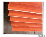 Madera contrachapada roja de la madera dura del álamo en precio bajo