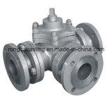 Pieza de la válvula, pieza de acero fundido inoxidable, bastidor de inversión, piezas que trabajan a máquina