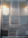 Chapa de aço do metal perfurado de alumínio do perfurador para o filtro