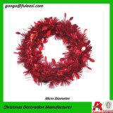 De Gift van de Ambacht van de Decoratie van Kerstmis van de Kroon van het Klatergoud
