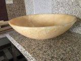 Polished раковина гранита/мраморный тазика для ванной комнаты, кухни