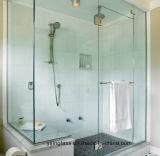 vidrio Tempered 12m m claro del cuarto de baño de 6m m 8m m 10m m