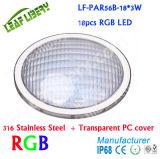 Lf-PAR56b-18 * 3W, AC12V IP68 étanche PAR56 Piscine Lumières