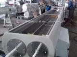 Doppio condotto elettrico gemellare del PVC UPVC dell'uscita/tubazione proteggente del cavo che fa macchina
