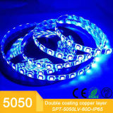 kit flexible de la cinta de la cinta de los 5m 5050SMD RGB LED con IP65 impermeable
