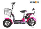Bici elettrica adulta con il motorino elettrico del ciclomotore di PASSO DI DANZA di 1:1 del pedale del cestino