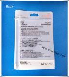 Kundenspezifischer Matt Plastic Packaging Bag mit Ziplock Slider und Hanger für Garment