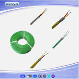 PFA Insulated en Sheathed T Type Thermocouple Compensation Wire