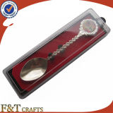 Promotional popolare Custom Logo Trourist Spoon con Box (FTSS2916A)