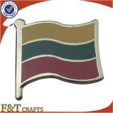 Diverso Pin promocional de la bandera de Rusia del metal del país (FTFP1611A)