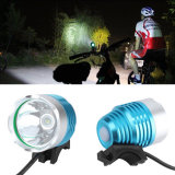 USB 5V recarregável CREE Xm-L T6 Bike Light 1600lm Max LED Bike Light
