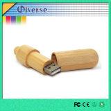 Movimentação por atacado do flash do USB da madeira para o presente relativo à promoção