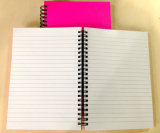 Тетрадь двойника книга в твердой обложке A4 спиральн