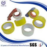 サンプルは明確なカートンのシーリングテープを包む紙箱を放す