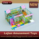 Campo de jogos interno comercial da árvore de coco do castelo encantador para a venda (T1505-10)