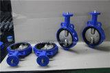 Gummizwischenlage-Oblate-Drosselventil mit 2 PCS der aufgeteilten Karosserie