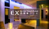 Control casero elegante europeo del panel de tacto de Ltech para amortiguar Ex3