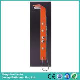 Colonna arancione dell'acquazzone di colore di disegno di modo (LT-B792)