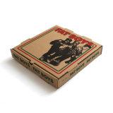[هوتسل] [بروون] لون يغضّن ورقيّة [كردبورد] بيتزا صناديق