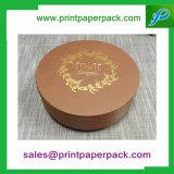 2016 напечатанная таможнями коробка подарка бумажного цветка картона шлема круглая