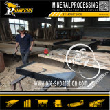 De houten Fabriek van de Concentrator van de Lijst van de Schok van de Machines van het Erts van de Apparatuur van de Goudwinning