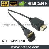 Mini-HDMI Down 90 Degree Cable Compatible für Blu Ray Player
