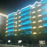 Rondelle de mur d'éclairage de façade de medias de DEL (H-335-S48-RGB)