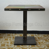 Sale (SP-RT465)のRestaurantのための黒いAntique Nail Table