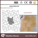 프랑스 패턴 디자인을%s 가진 노란 석회석 또는 석회화 포장 기계