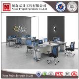 Structure simple moderne élégante de poste de travail de bureau de conception pour la portée 4 (NS-PT004)