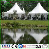 Ereignis-Dekoration-mobiles Aluminiumrahmen-Pagode-Zelt-Kabinendach mit Polen