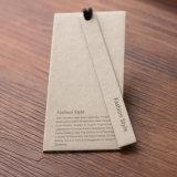 Étiquette blanche réutilisée de coup des prix de bijou de papier lustré