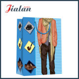 Мешок подарка покупкы костюма лоснистого прокатанного M бумаги искусствоа бумажный