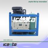 Máquina de hielo del tubo de la alta capacidad del compresor de Bitzer (control del PLC)