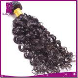 バージンの毛の織り方の深い波のモンゴル人の毛